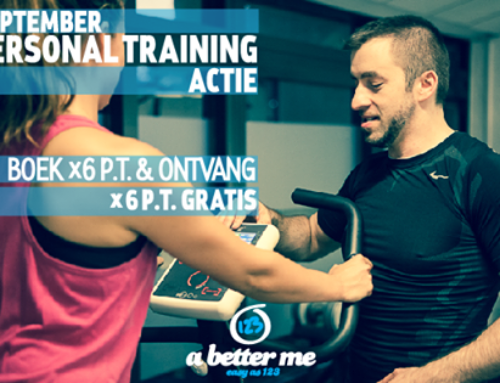 September Personal Training Actie